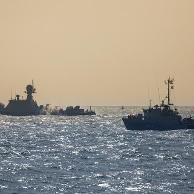 Каспийскую флотилию подняли по тревоге