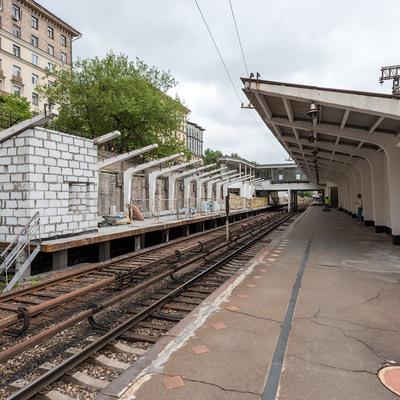 Участок Филевской линии московского метро в эти выходные закрыт