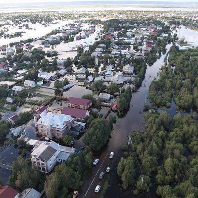 В Белогорске Амурской области вода ушла из 25 дачных участков