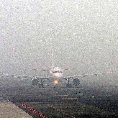 Сильный туман осложнил работу аэропорта Екатеринбурга