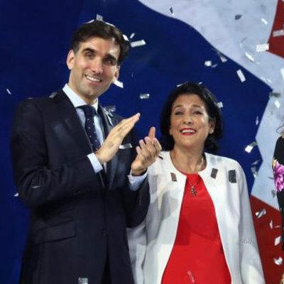 Сын президента Грузии устроился на работу в администрацию президента Франции