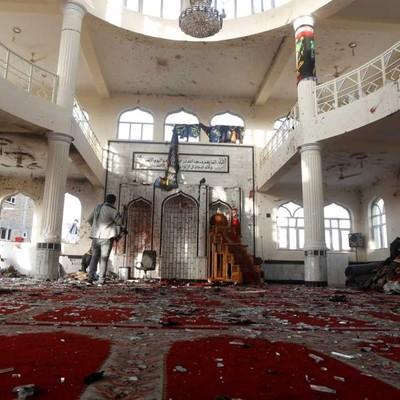 Число погибших при взрывах в мечети в Афганистане возросло до 62