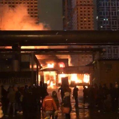 Пожар в складских помещениях на востоке Москвы локализован