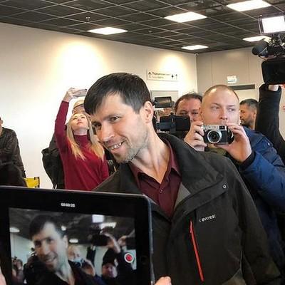 Россиянин Денис Лисов прибыл в Хабаровск