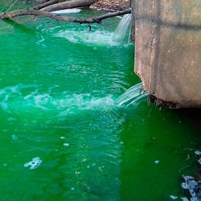 Прокуратура выясняет причины, по которым река во Владивостоке изменила цвет