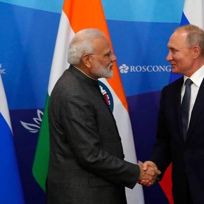 Путин ждет премьера Индии в Москве на мероприятиях в честь 75-летия Победы в 2020 году