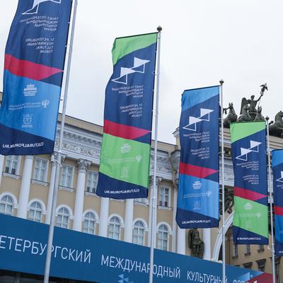Мединский рассказал Путину об итогах Петербургского культурного форума