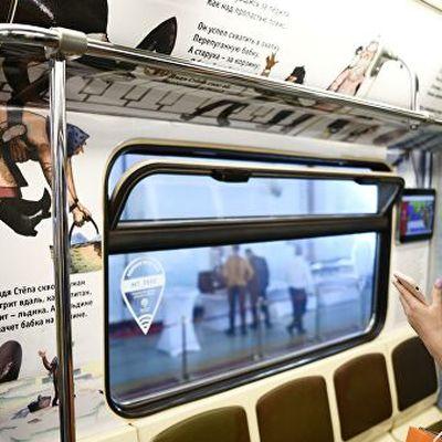 В московском метро запустили поезд, посвященный писателю Сергею Михалкову