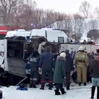 Опознаны все 19 погибших в ДТП в Забайкалье