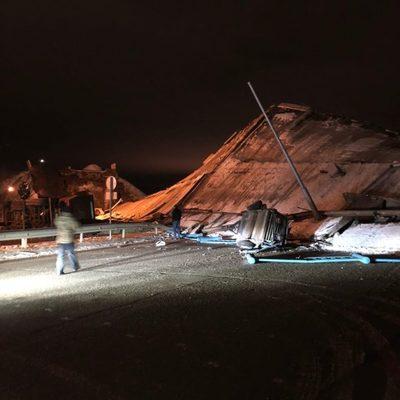 Обрушение моста в Оренбурге произошло из-за проезда груженого автомобиля