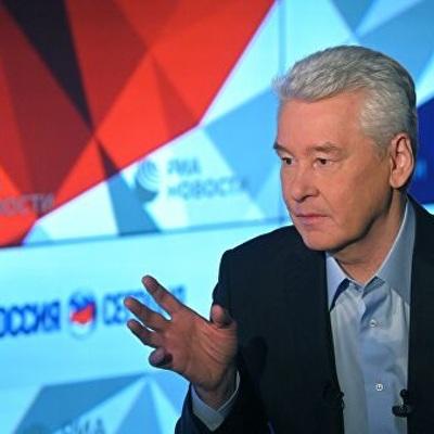 Собянин призвал москвичей оставаться дома
