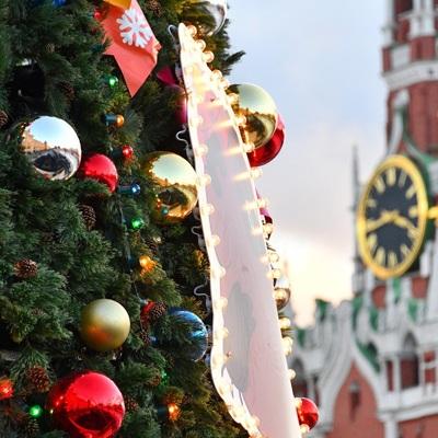 Более тысячи праздничных елей украсят Москву к Новому году