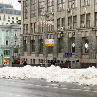 Временный снежный покров может образоваться в Москве в конце октября