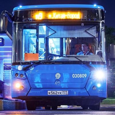 Плохая погода не привела к сбоям в работе транспорта Москвы