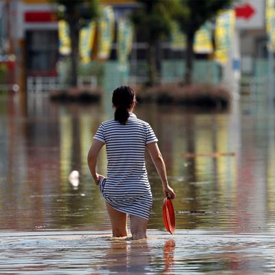В Японии из-за проливных дождей повреждены более 12,5 тысячи домов