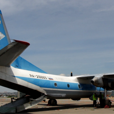 Спасатели прекратили поисковую операцию в районе крушения Ан-26 под Харьковом