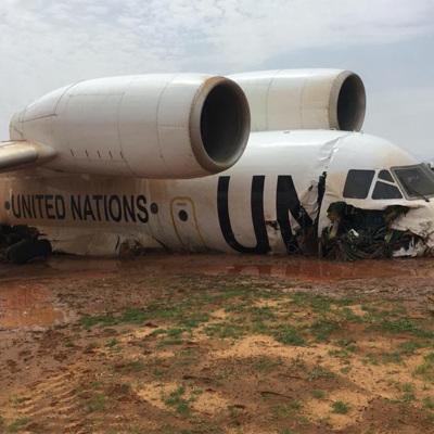 11 человек получили ранения при жёсткой посадке самолёта в Мали