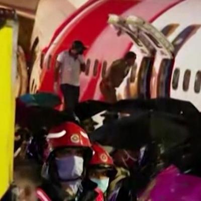 Индийский Boeing 737 дважды заходил на посадку перед крушением