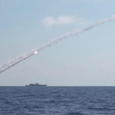 Условные пуски ракет выполнили в Северном море шесть ракетных кораблей Балтийского флота