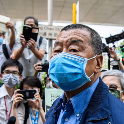 Бизнесмен Джимми Лай, арестованный в Гонконге, отпущен под залог