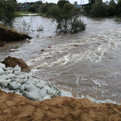 В ЕАО продолжается эвакуация людей после прорыва дамбы