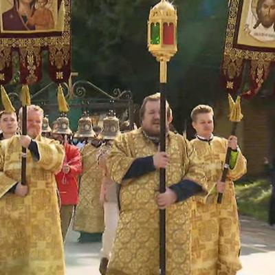 В Москве завершился крестный ход с мощами Александра Невского