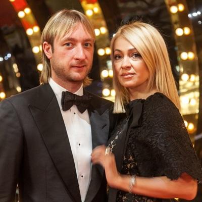 Яна Рудковская и Евгений Плющенко стали родителями