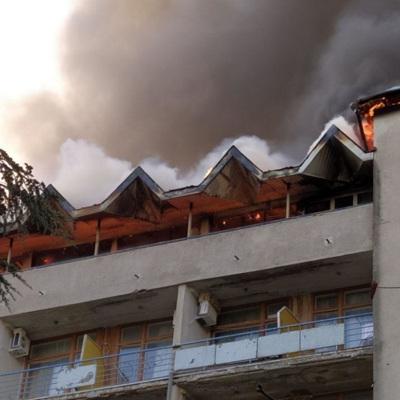 Санаторий в Ялте, где произошел пожар, восстановят к следующему курортному сезону