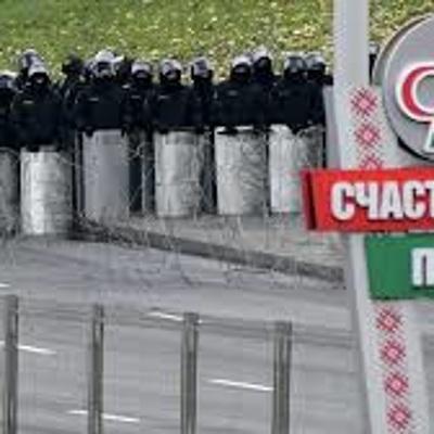 В Минске силовики препятствуют движению колонн белорусской оппозиции