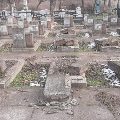 СК завел дело о надругательстве над братской могилой в украинском Херсоне