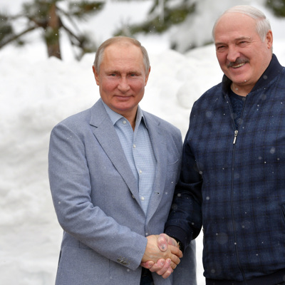 Путин позитивно оценивает итоги состоявшейся встречи с Лукашенко