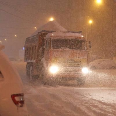 На Чукотке бушует мощный циклон