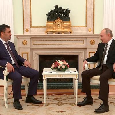 Путин: Россия и дальше будет поддерживать Бишкек