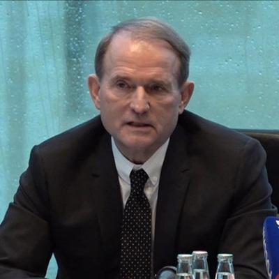 В доме главы политсовета партии ОПЗЖ Медведчука проходят обыски