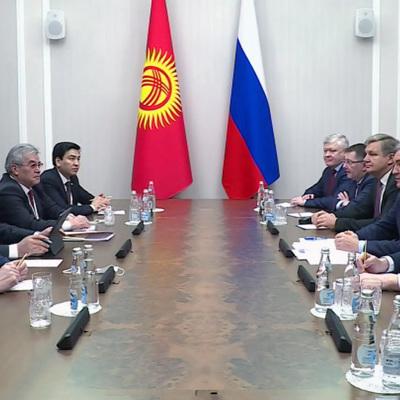 По итогам визита президента Киргизии в Россию были подписаны 4 документа