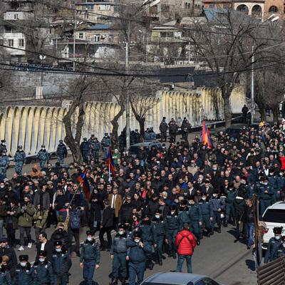 Мэр Спитака заявил, что поддерживает армию и выступает за отставку властей
