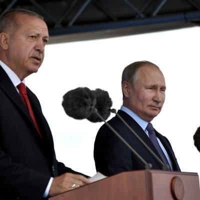 Президенты России и Турции обсудят опасность активности террористов в сирийском Идлибе