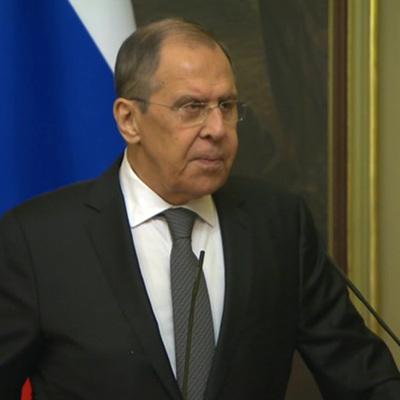 Глава МИДа России Сергей Лавров прилетел в Ереван
