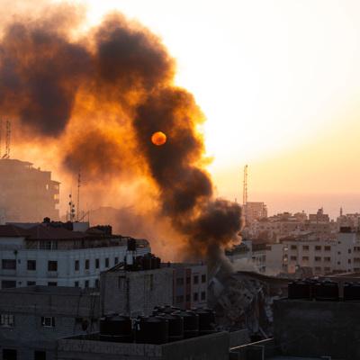 Массовые демонстрации проходят на Западном берегу в поддержку палестинцев