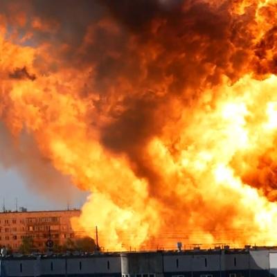 Названа причина пожара на АЗС в Новосибирске