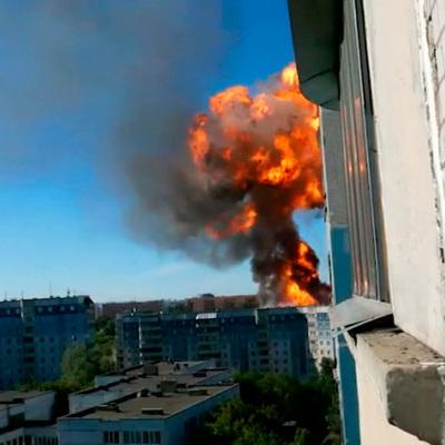 Пожарные завершают разбор завалов на месте пожара в Новосибирске
