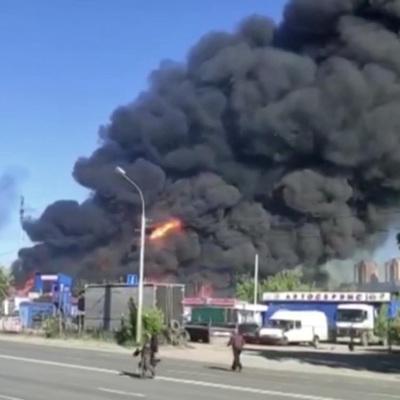 Новосибирск: под домашний арест отправлен инженер АЗС, на которой произошел пожар