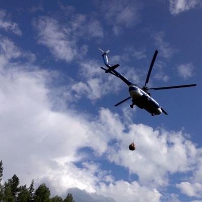 45 природных пожаров ликвидировано за сутки в Якутии