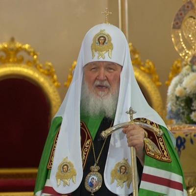 Патриарх Кирилл предостерег верующих от поклонения