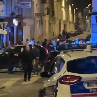 СМИ: трое полицейских пострадали при столкновениях на манифестации в Париже
