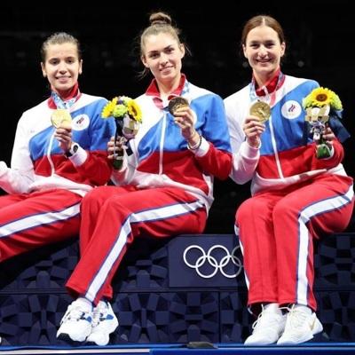 Сборная России завоевала три медали в субботу на Олимпиаде в Токио