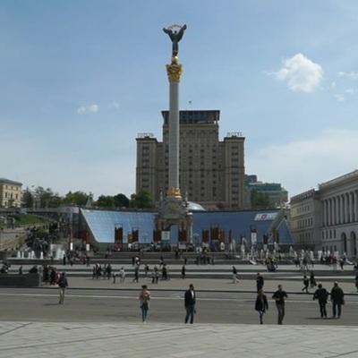 В центре Киева проходит акция протеста против вакцинации от ковида
