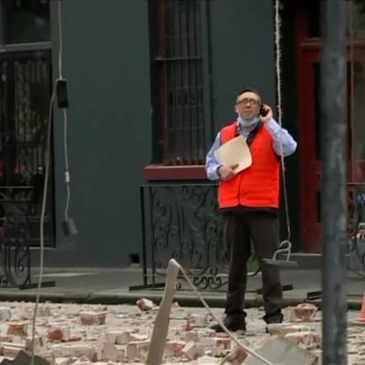 Более 45 зданий частично разрушены из-за землетрясения на юго-востоке Австралии