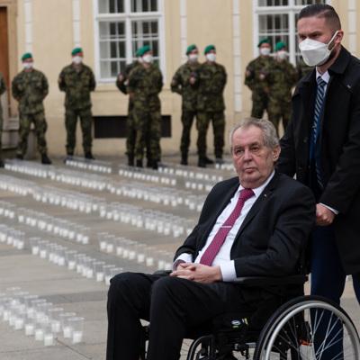 Поступила информация о самочувствии президента Чехии Милоша Земана