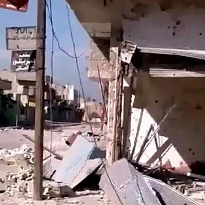 Сирийскиевойска ведут ожесточенные бои на востоке Дамаска